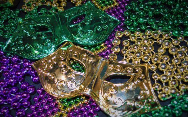 Mardi Gras Merchandise - Masks