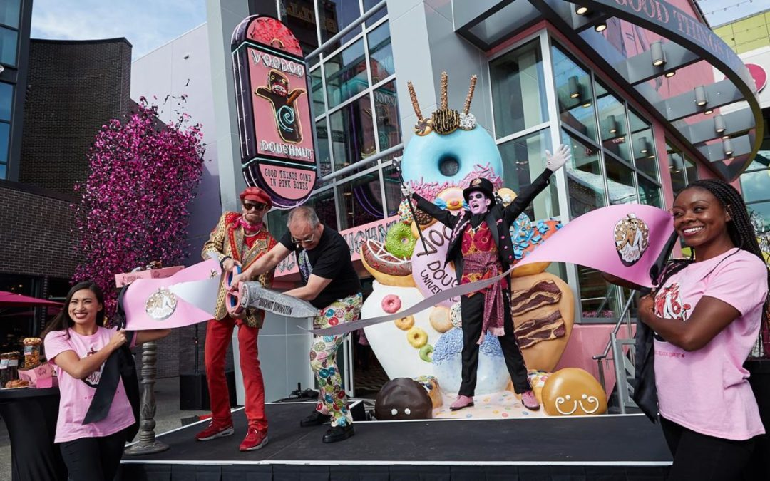 Voodoo Doughnut is Now Open Ribbon Cutting