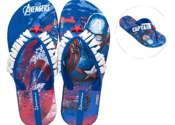 Captain America Ipanema Flip-Flops