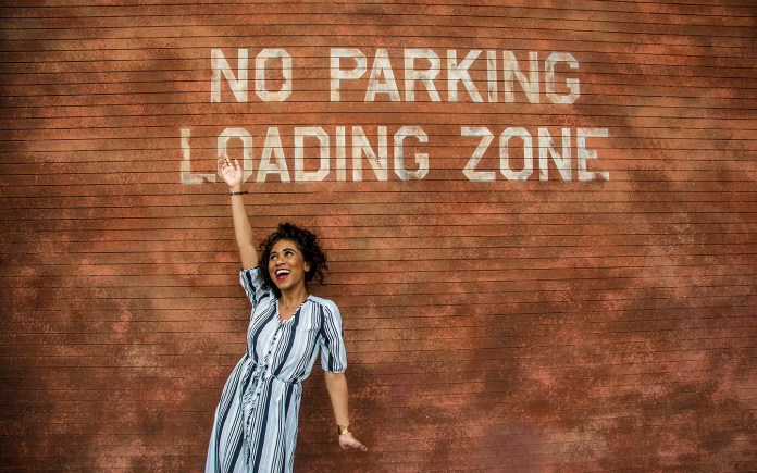 New York No Parking Wall