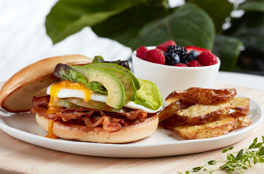 Urban Pantry - Breakfast BLT Sandwich