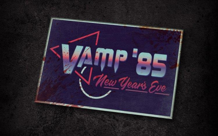 Vamp '85: New Years Eve HHN Scare Zone