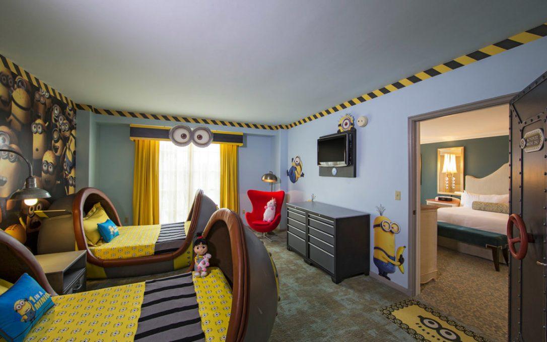 Loews Portofino Bay Hotel Despicable Me Kids' Suites, Minion