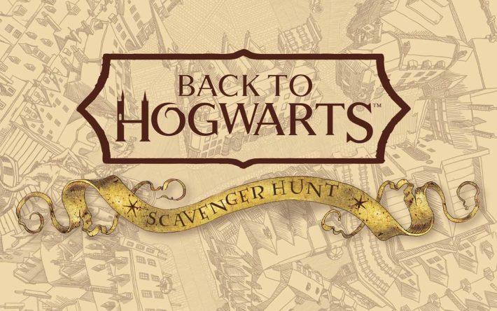 Choose Your Journey With a Back to Hogwarts Scavenger Hunt