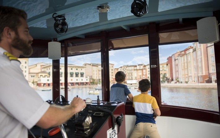 Complimentary Water Taxi at Loews Portofino Bay Hotel