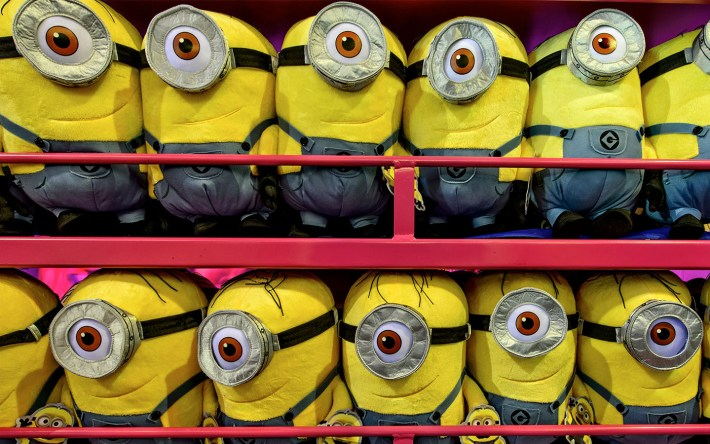 Despicable Me Minion Plushes from Universal Orlando Resort