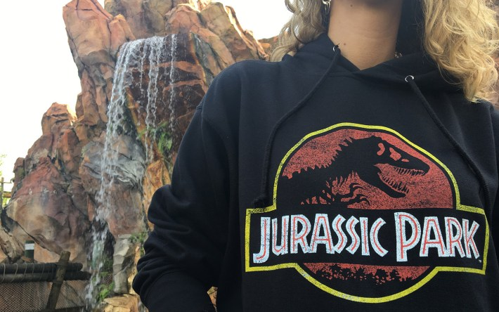Jurassic Park Hoodie from Universal Orlando Resort