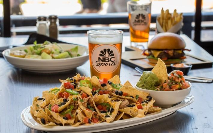 NBC Sports Grill & Brew Nachos
