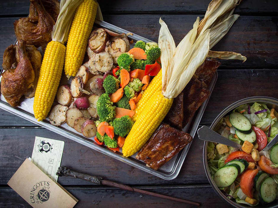 Great Feast from Three Broomsticks