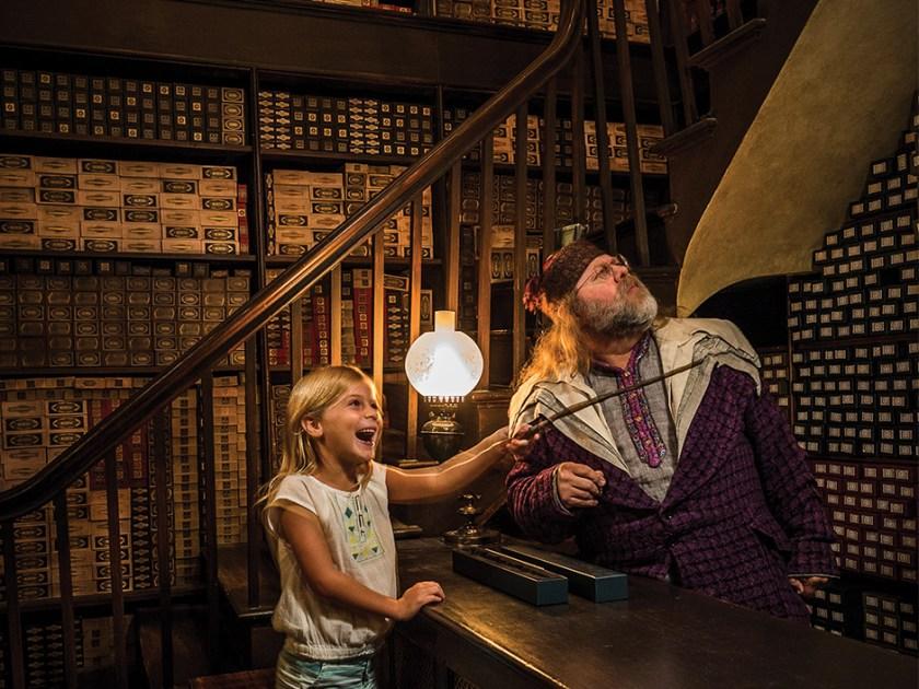Ollivanders in The Wizarding World of Harry Potter