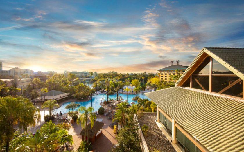 Loews Royal Pacific Resort Piscina Arial