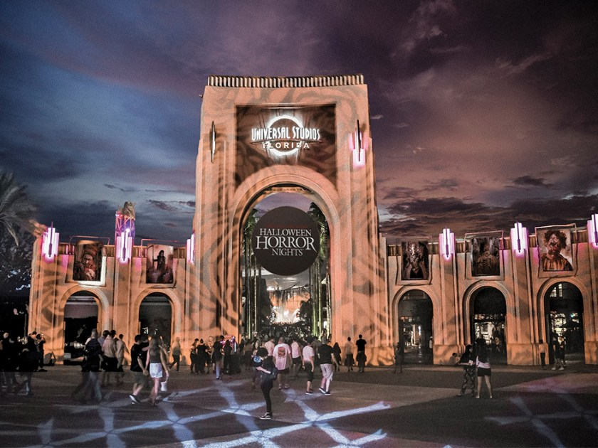 Halloween Horror Nights at Universal Studios Florida