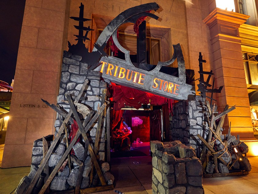 Tienda Tribute de Halloween Horror Nights