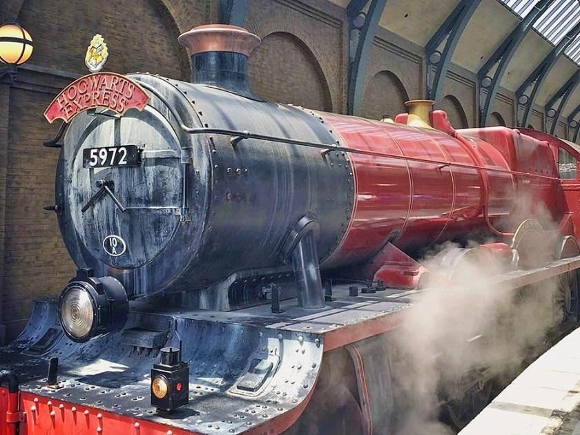 Expreso de Hogwarts en El mundo mágico de Harry Potter