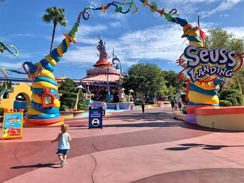 Seuss Landing en Universal's Islands of Adventure