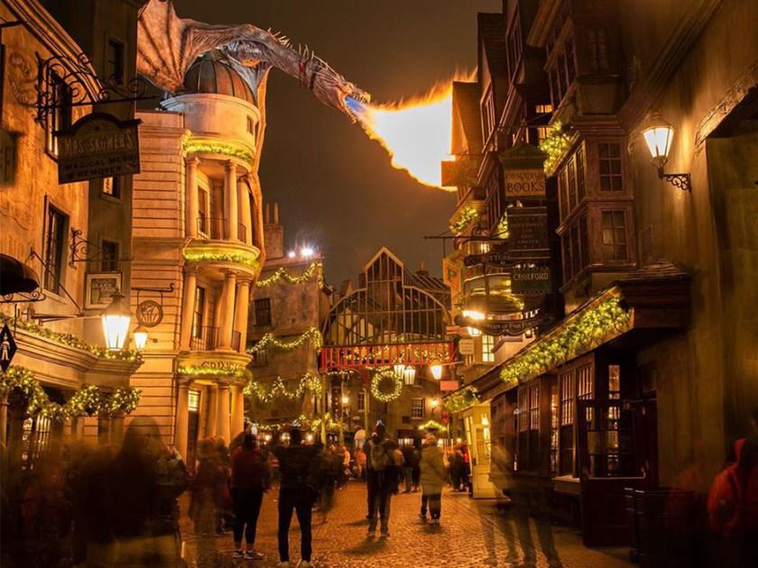 Navidad en El mundo mágico de Harry Potter