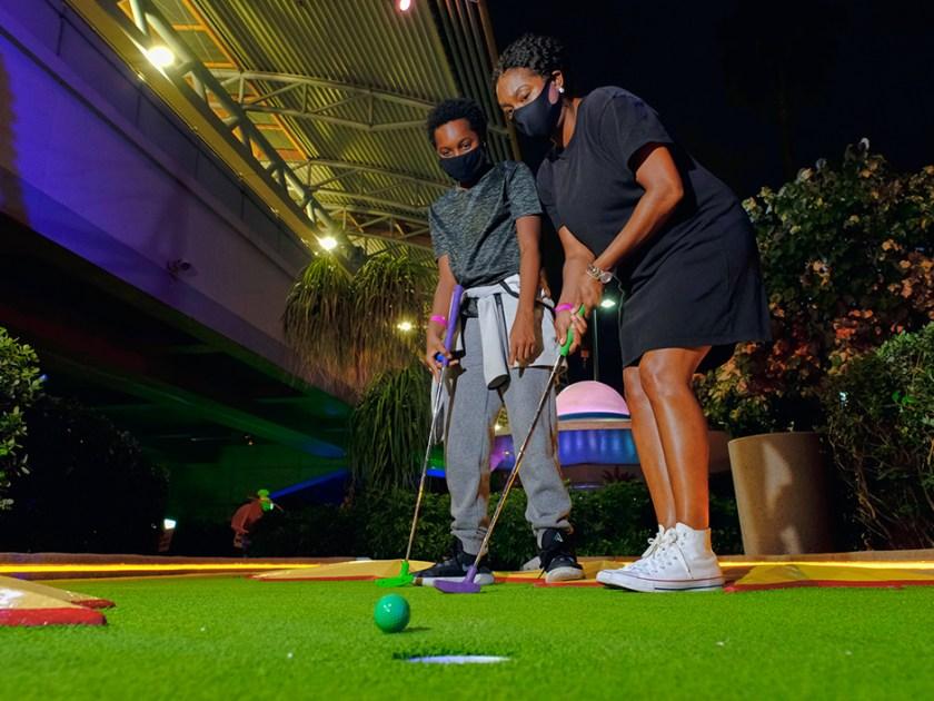 Golf con autocines de Hollywood