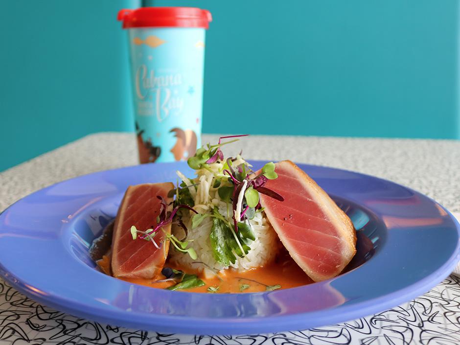 Ahi Tuna Bowl from Bayliner Diner