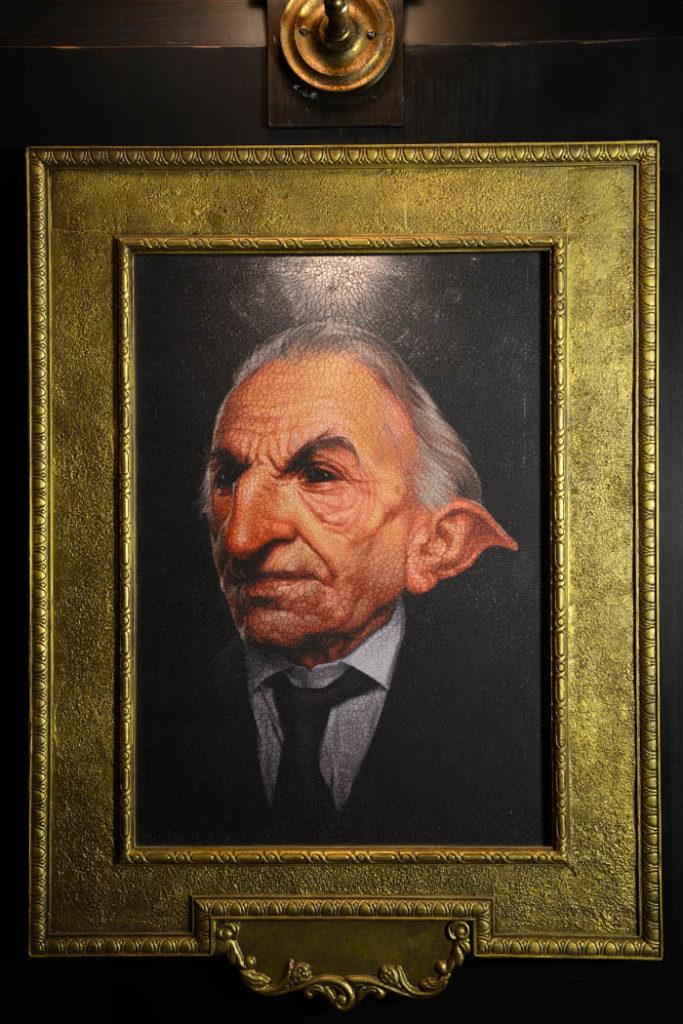 Harry Potter y la cola de escape de Gringotts - Retratos de duendes