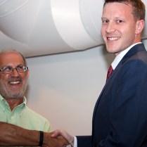 Ralph Cassel Award winner Brady Fickenscher