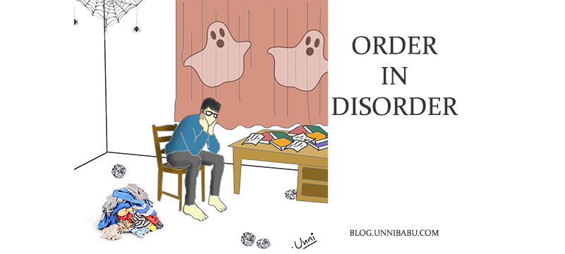 order in disorder poem, my room poem , untidy room