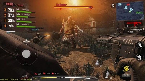 Call of Duty Mobile Zombie Mode Cooperativo
