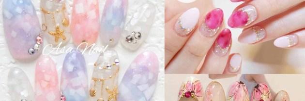 ♥ 粉嫩的少女情懷!愛上粉色指甲彩繪