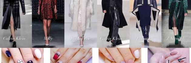 ♥ 2016秋冬女裝趨勢!凝膠指甲的穿搭流行