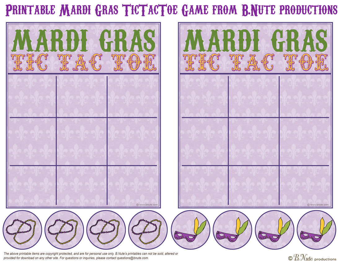 5 Printables For Celebrating Mardi Gras With Kids