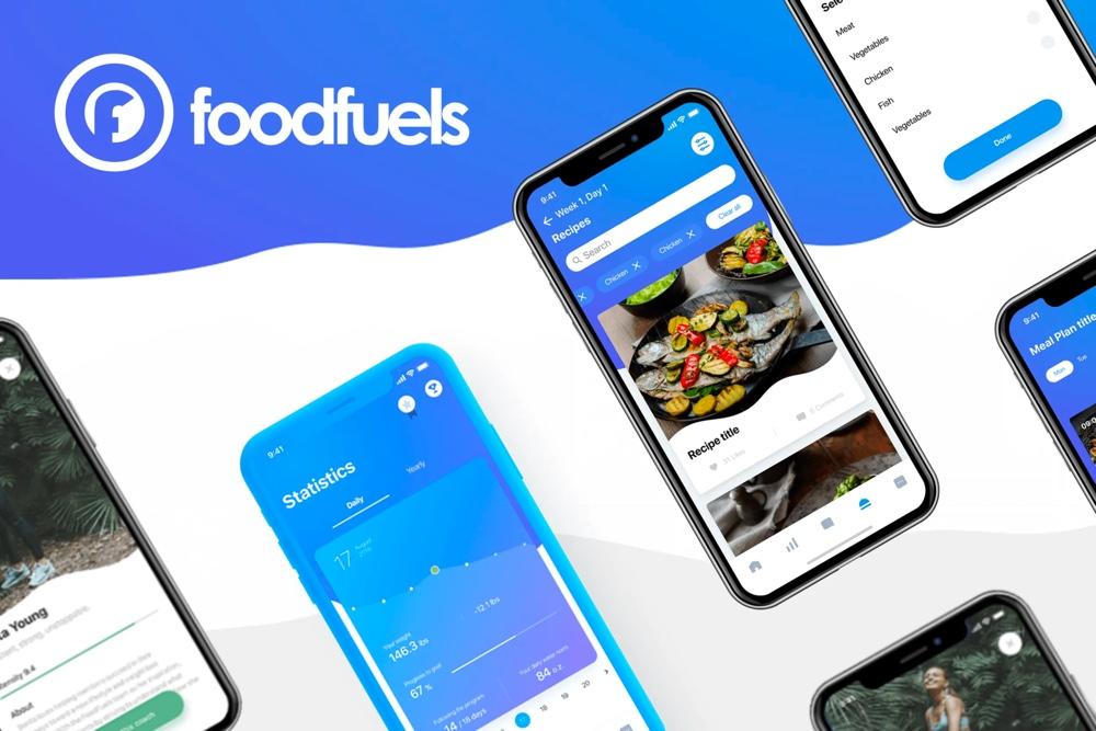 Foodfuels. Nutrition app