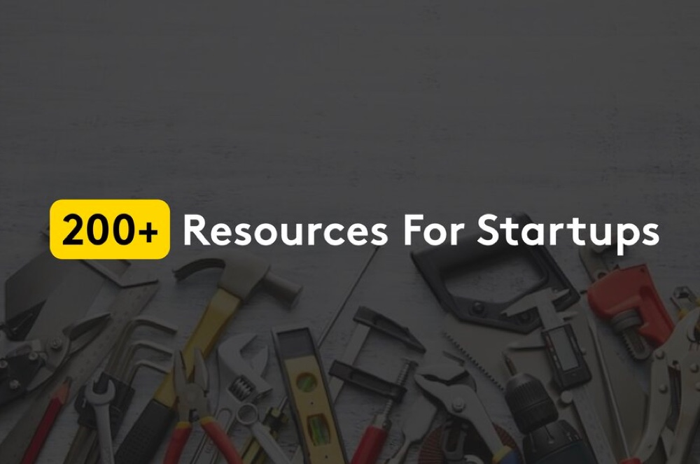 200+ resources for startups