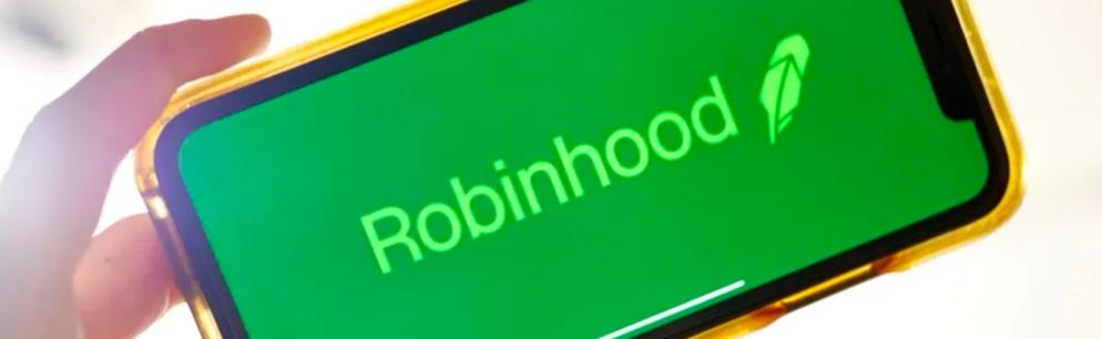 robinhood on the phone