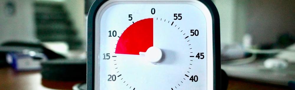 Timer clock. startup monetization model