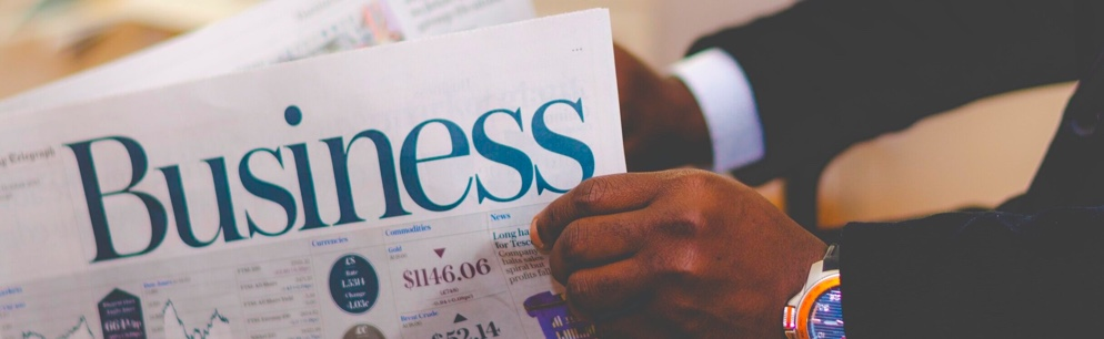 Startup Business Model & Strategic Planning. Newspaper