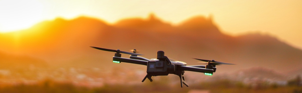 Which industries use the internet of things? Drone