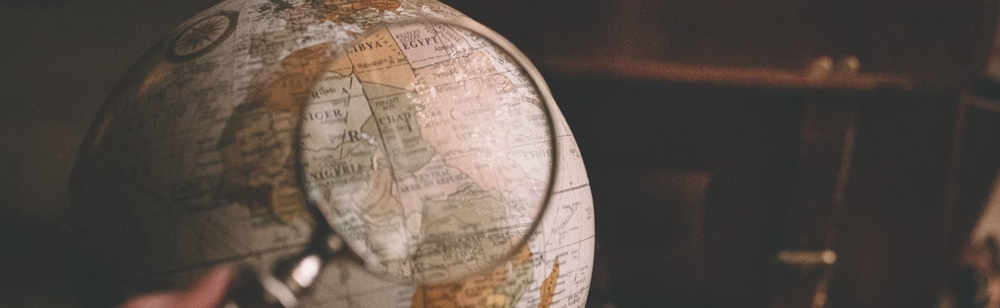 Where can I find investment? globe and search