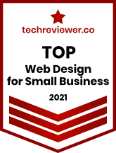 urlaunched named as top web design for small businesses 2021 by techreviewer