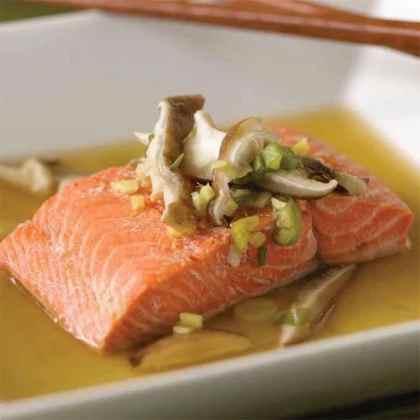 Asian Steamed Salmon Recipe