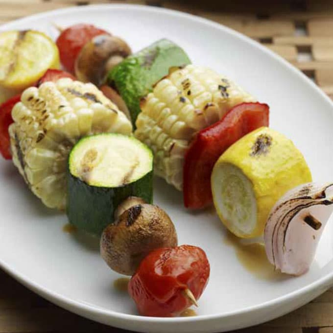 Grilled Vegetable Kabobs Recipe