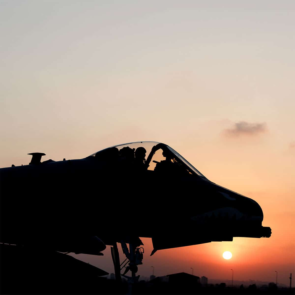 The A10s are deployed here from the 74th Fighter Squadron, Moody Air Force Base, Georgia, in support of Operation Inherent Resolve. A-10s employ a wide variety of conventional munitions in the fight against the Islamic State of Iraq and Syria.
