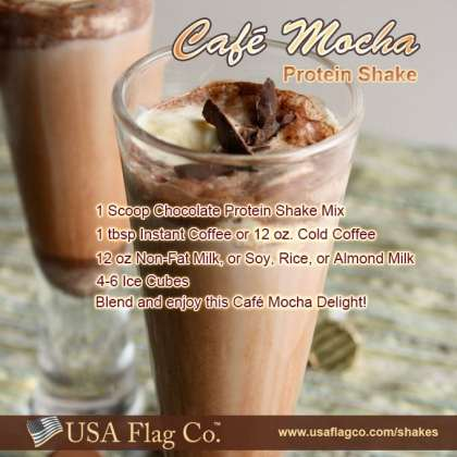 Coffee is the common man's gold, and like gold, it brings to every person the feeling of luxury and nobility. Blend and enjoy this tasty Cafe Mocha Protein Shake Delight!
