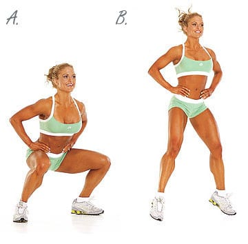 How to do a Squat Exercise for Women.