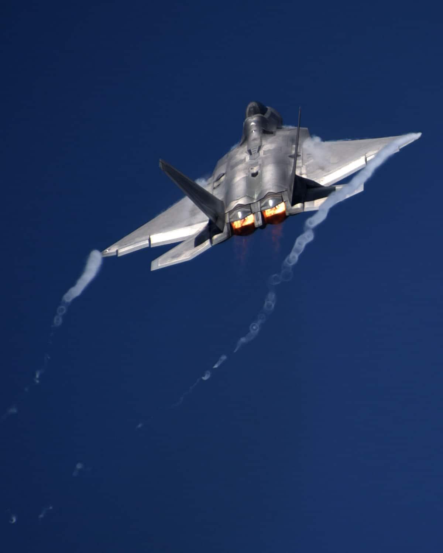 United States Air Force F-22 Raptor Evacuation due to Hurricane Irma.