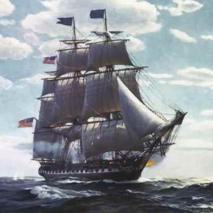USS CONSTITUTION – The War of 1812