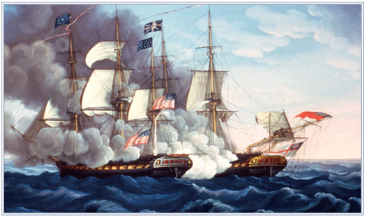 """Old Ironsides"" in the War of 1812."