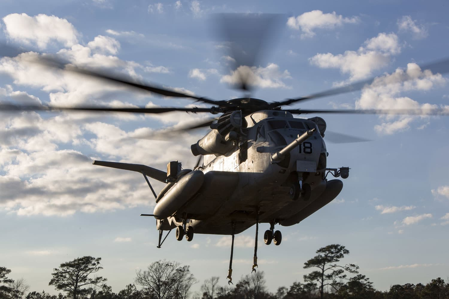 CH-53E Super Stallion Helicopter with Marine Heavy Helicopter Training Squadron