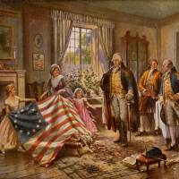 Betsy Ross and the United States Flag