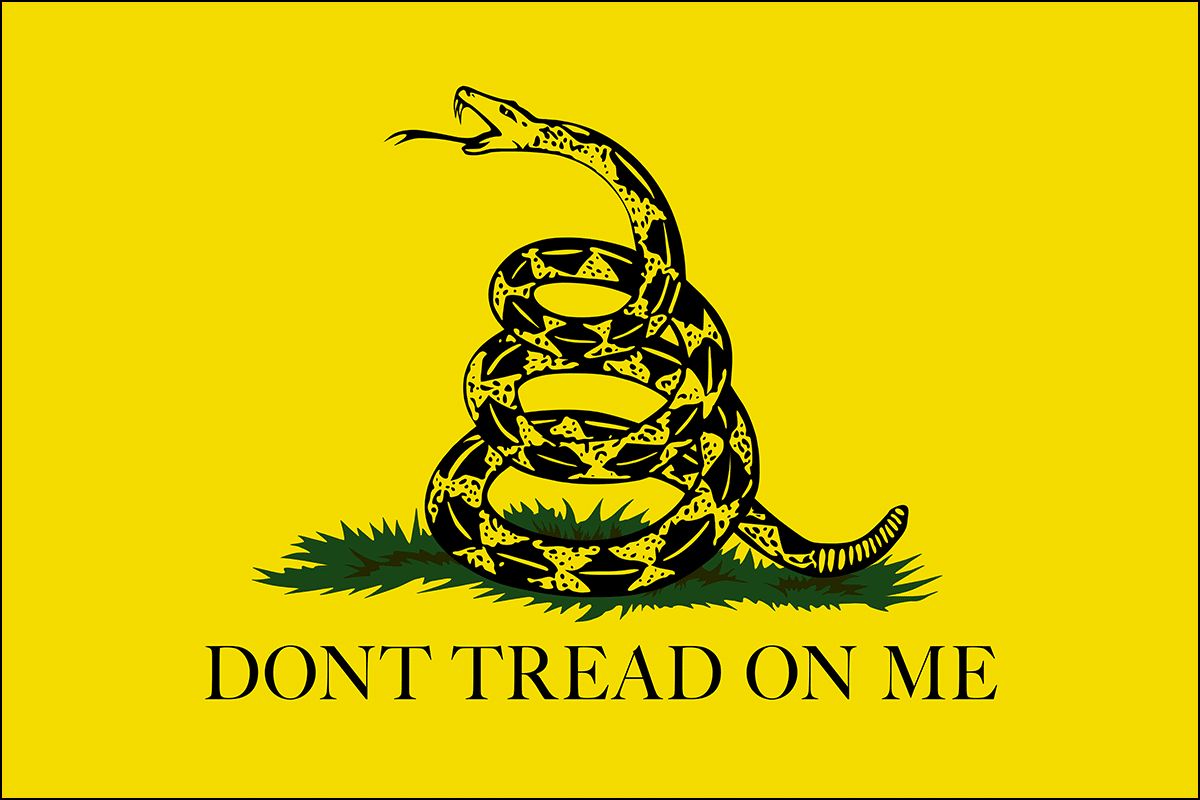 The rattlesnake, the Gadsden flag's central feature, had been an emblem of Americans even before the Revolution.