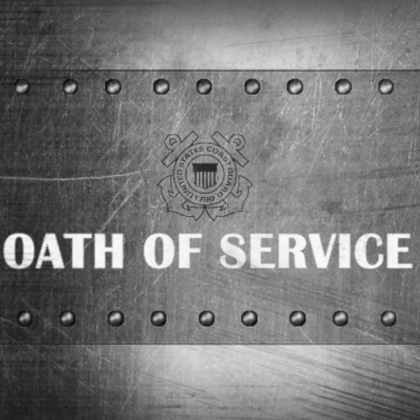 United States Coast Guard: Oath of Service