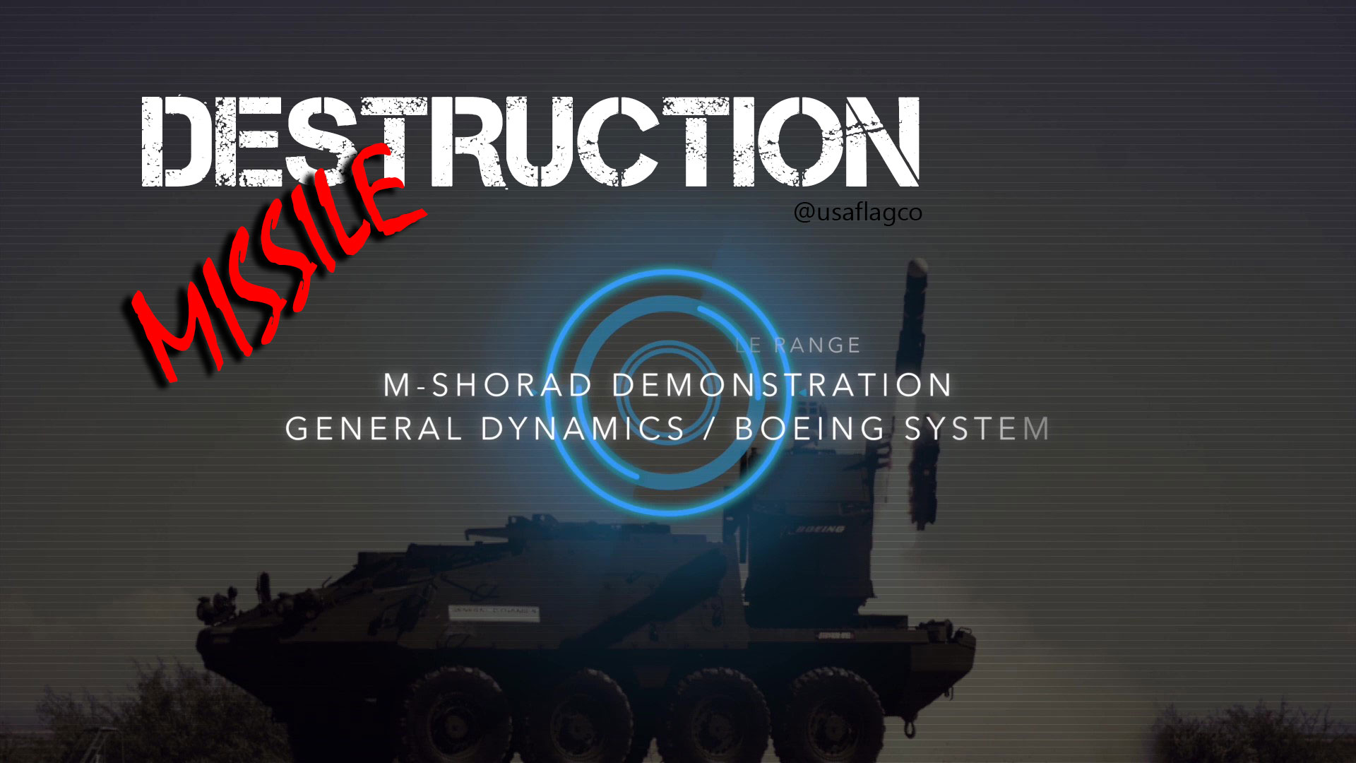 M-SHORAD Missile Demonstration (General Dynamics & Boeing System) - Amazing Destruction!